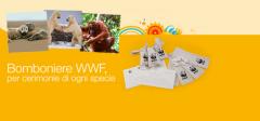 bomboniere wwf, progetti wwf, regali bomboniere, tutela ambiente, progetti wwf , progetto cras, progetto adozioni,