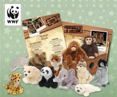 wwf,tutela ambiente,adotta peluche wwf,peluche ecologici,peluches atossici,pupazzi regalo,regalo natale,regalo ambientalista,regalo ecologico,contributo wwf